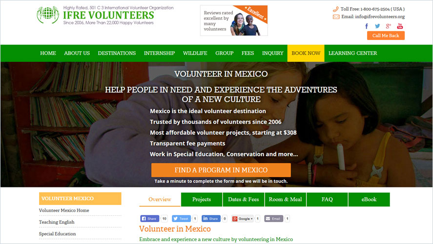 Best Volunteer Opportunities In Mexico by IFRE