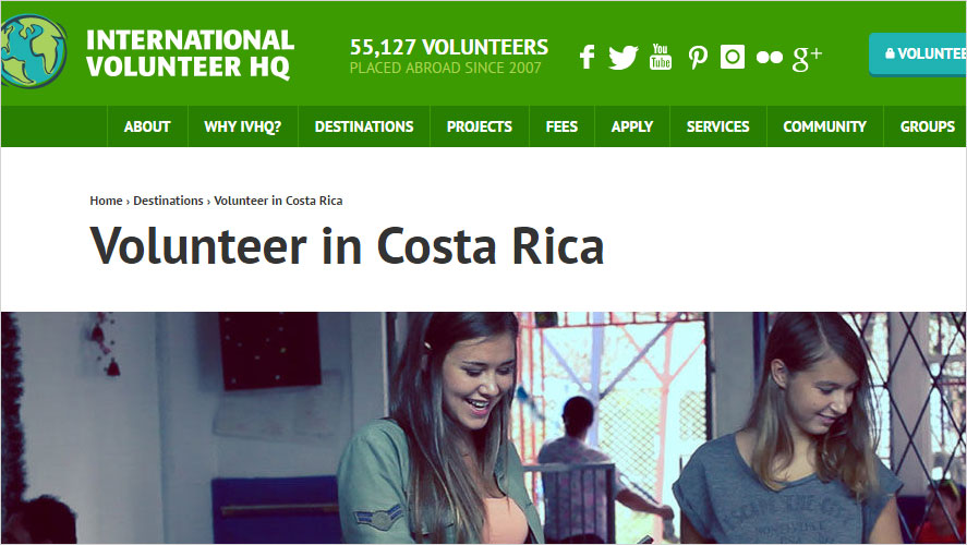 Inexpensive Volunteer Opportunities in Costa Rica by IVHQ