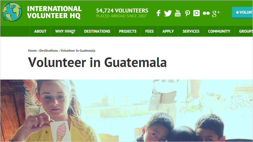 IVHQ Top Low Cost Volunteering in Guatemala Opportunities