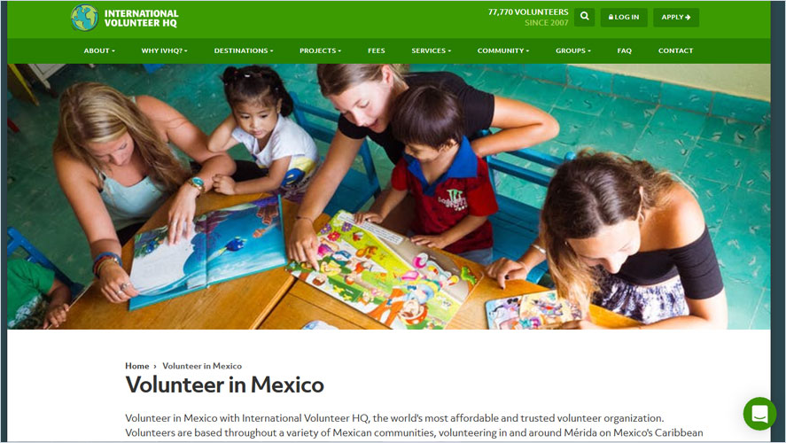 Best Volunteer Opportunities In Mexico by IVHQ