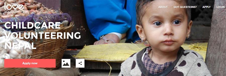love volunteer nepal