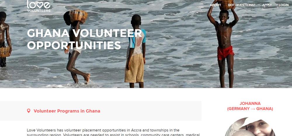 Love Volunteer Ghana
