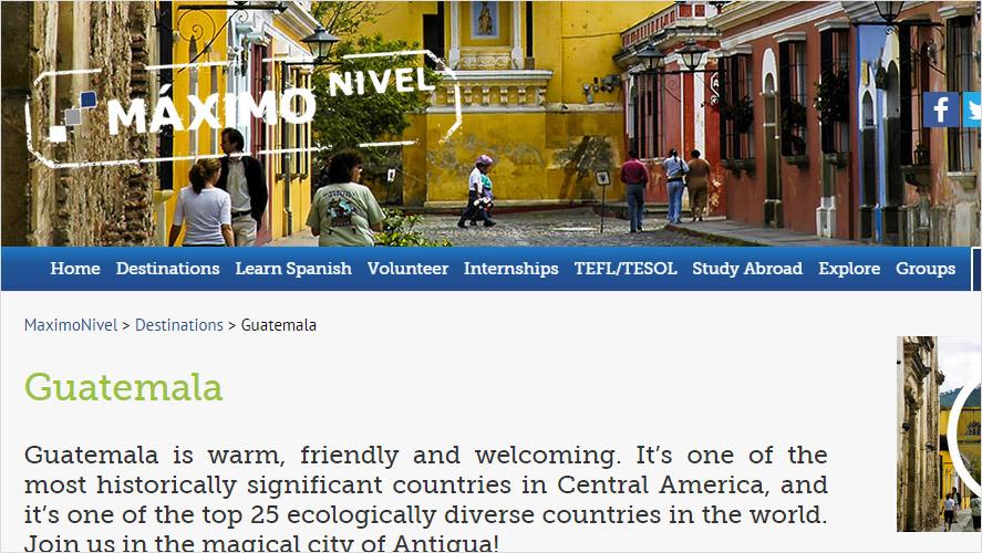 Maximo Nivel Affordable Guatemala Volunteer Projects