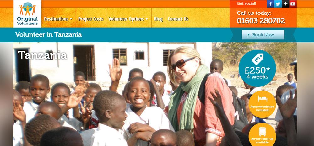 Original Volunteer Tanzania