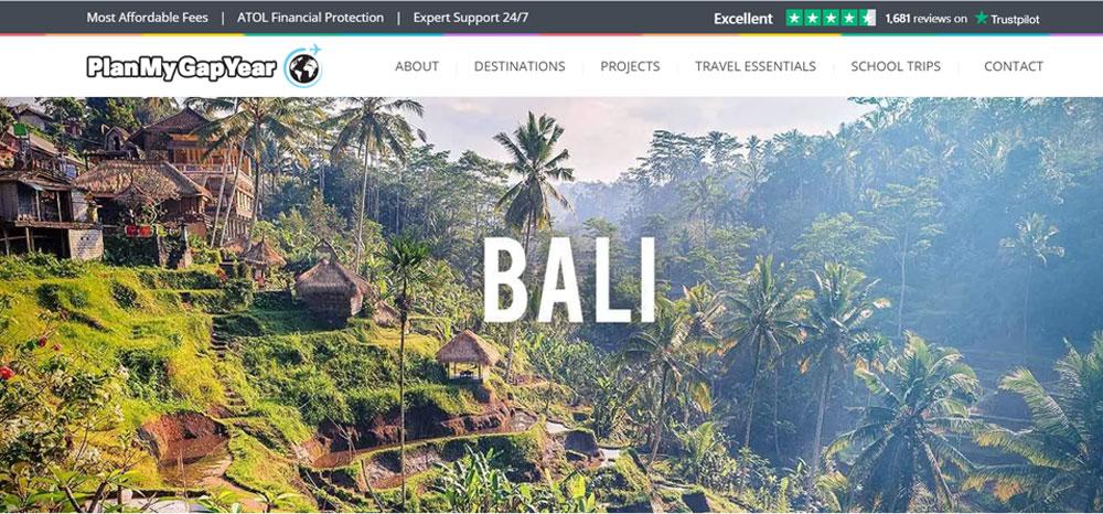 Plan My Gap Year Bali