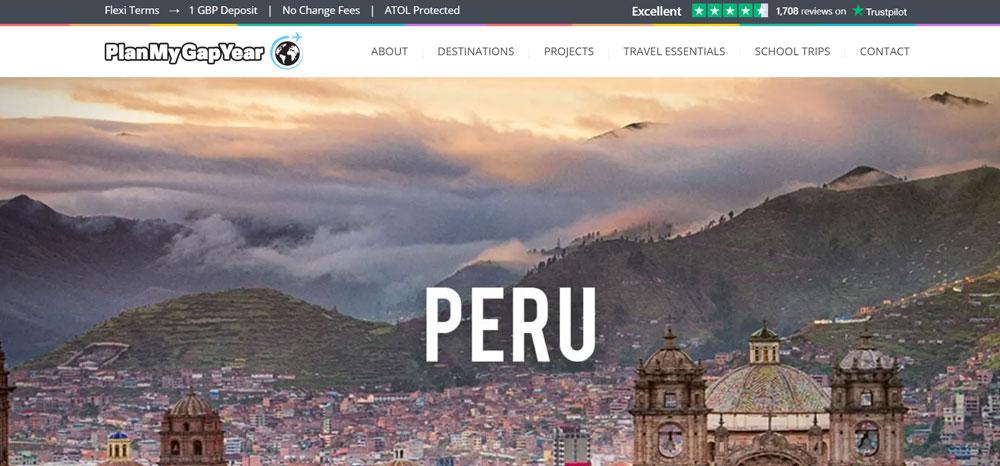 volunteer in Peru with Plan my Gap Year