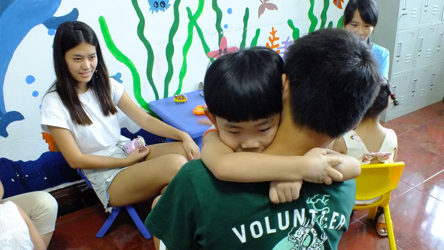 Projects Abroad's best China volunteering at care placements