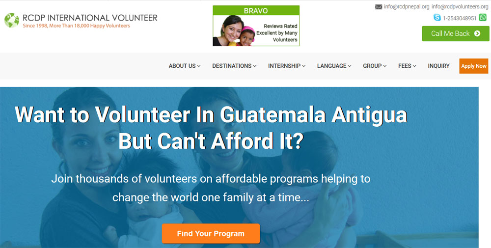 rcdp volunteer guatemala
