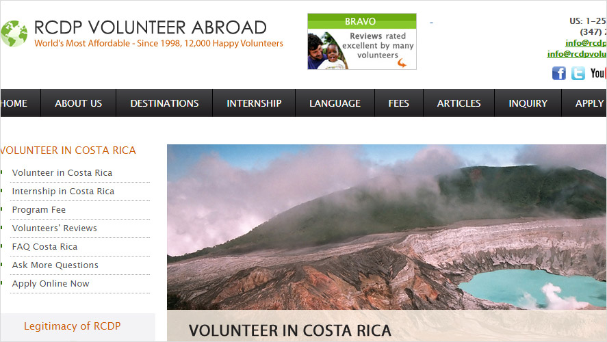 Cheap Best Volunteer Healthcare in Costa Rica Opportunities by RCDP