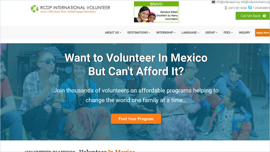 Best Volunteer Opportunities In Mexico by RCDP