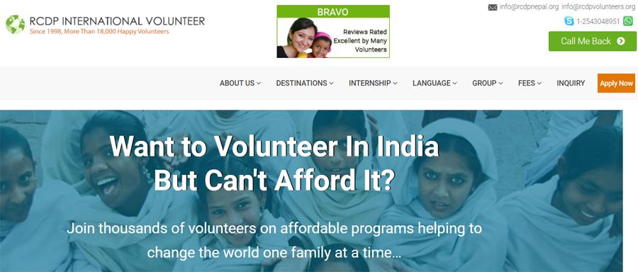india volunteer care