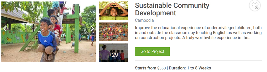 sustainable community development