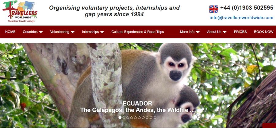 travellers volunteer work ecuador