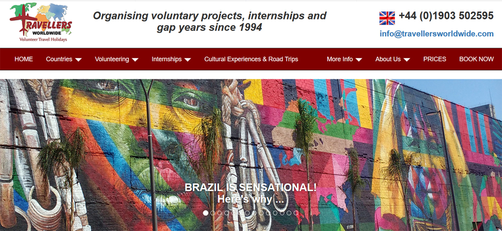 love volunteer brazil
