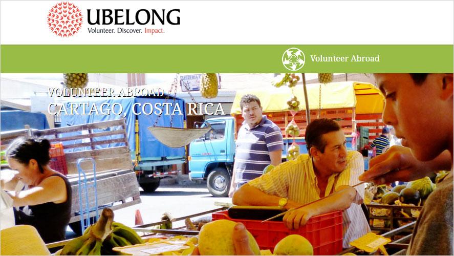 Ubelong Low Cost Volunteer Programs in Costa Rica