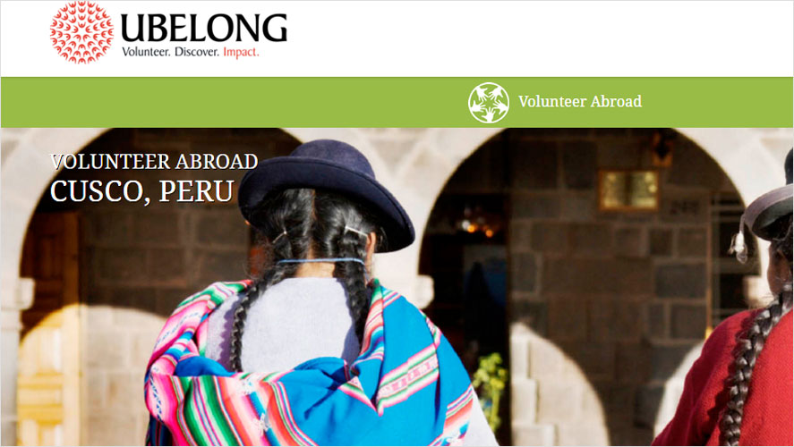Best budget peru volunteer opportunities from Ubelong