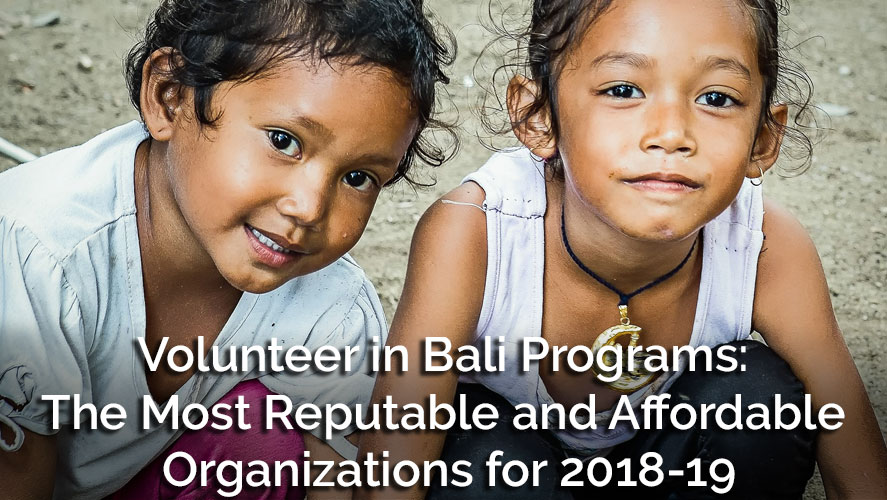 Best Cheap Volunteer Opportunities In Bali