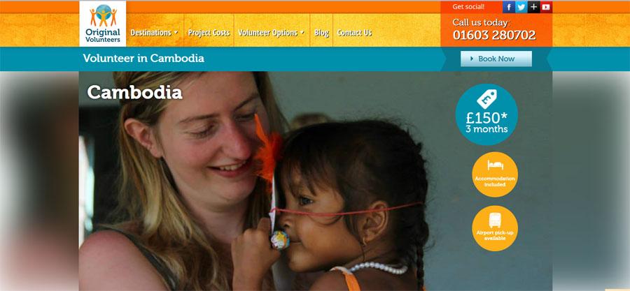 child care project cambodia