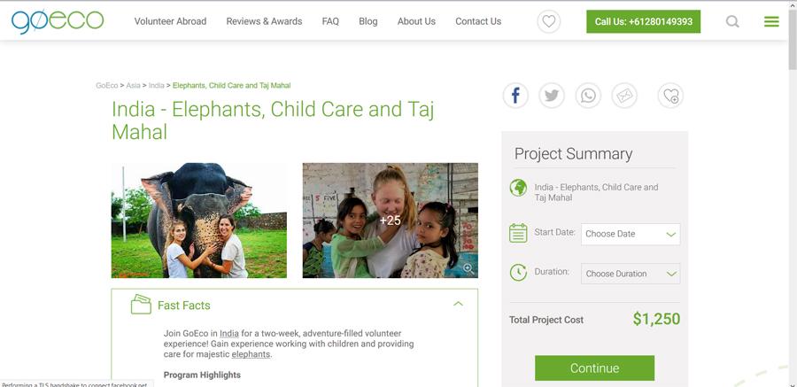 childcare program india goeco