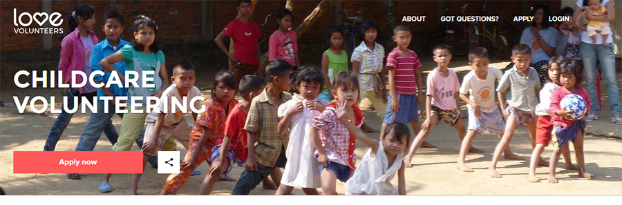 love volunter cambodia
