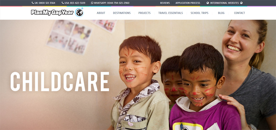 plan child care project nepal