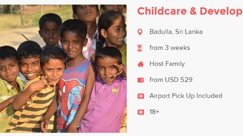love volunteer children development