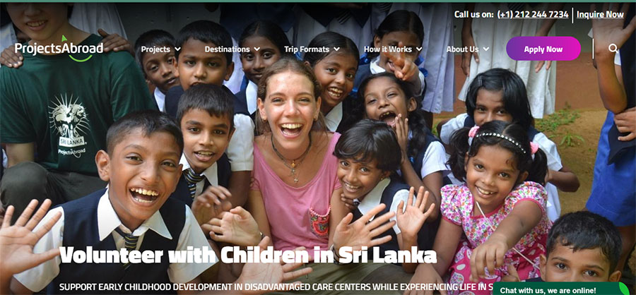 project abroad childcare program