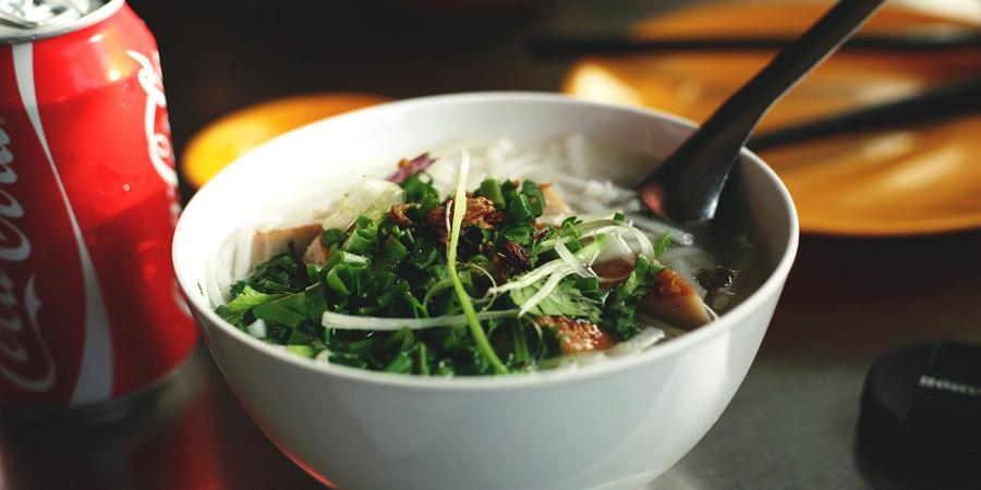 authentic Vietnamese noodle