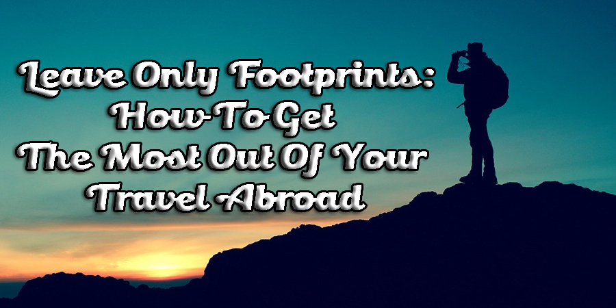 travel abroad check-list
