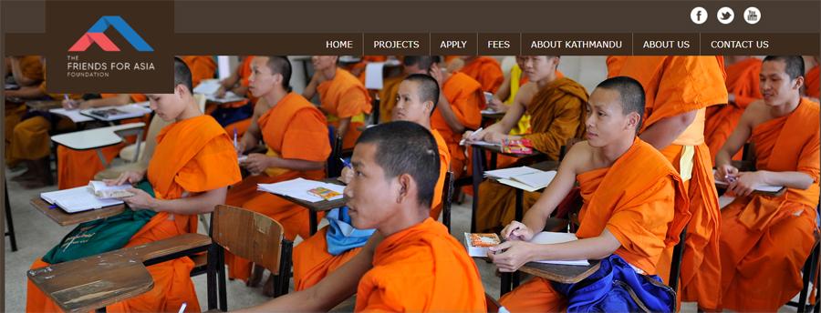 volunteer in nepal monastery