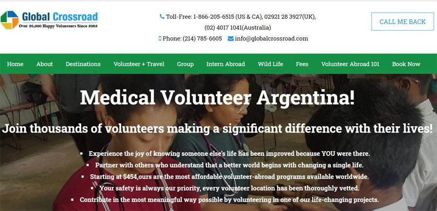 gcr argentina medical