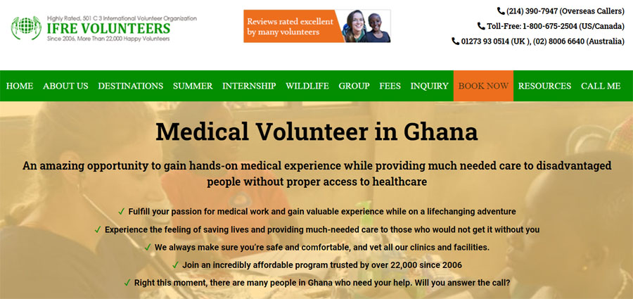 ifre ghana medical project
