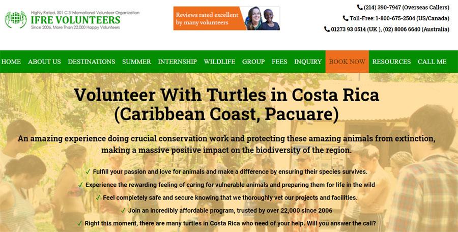 preserve turtle in costarica