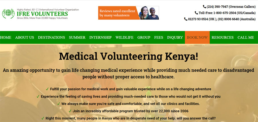 medical kenya project ifre