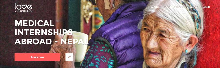 medical volunteering project nepal