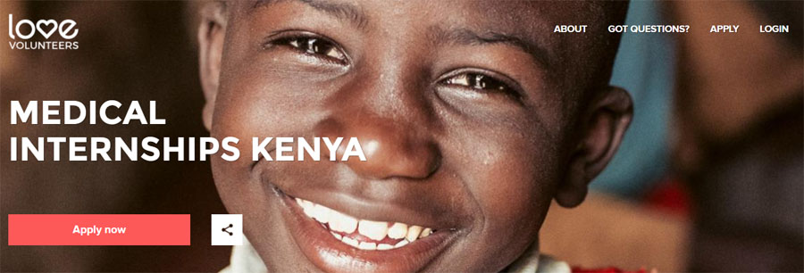 love volunteer kenya medical project