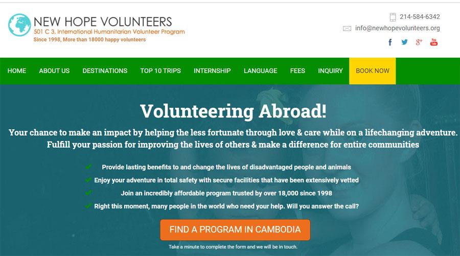 new volunteer medical cambodia