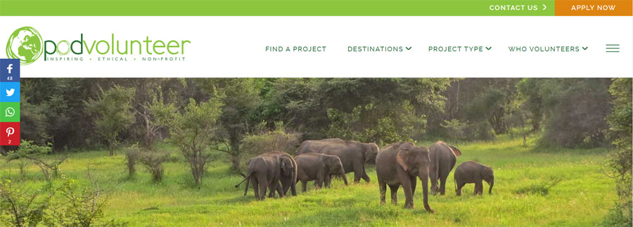sri lanka elephant project