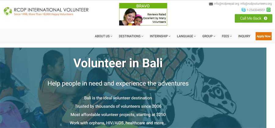 rcdp bali turtle projects