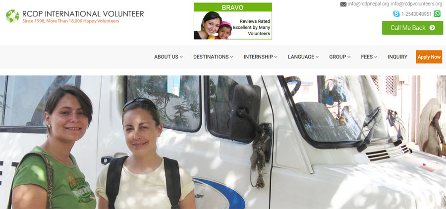rcdp india medical volunteering