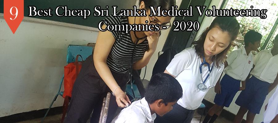 sri lanka medical volunteering projects