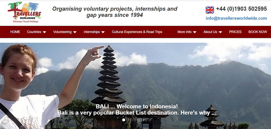 travellers bali projects
