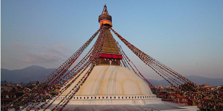 baudhanath stupa in Nepal