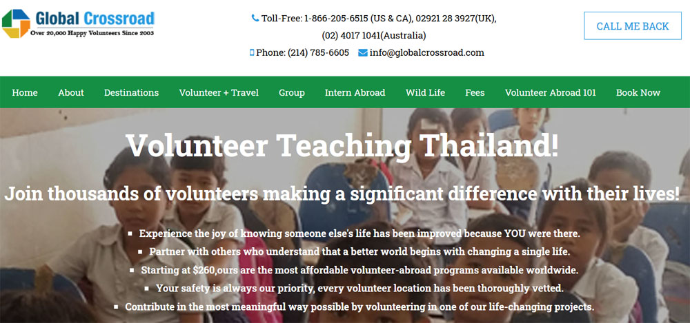 Best abroad volunteer programs