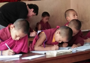 Teaching Buddhist Monks Internship in Nepal - Lowest Fees & Trusted since 2003