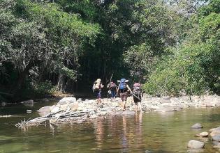 Kids Explorers (Scouts) in the Peruvian Amazon
