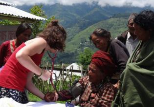 Volunteer at a Rural Medical Camp