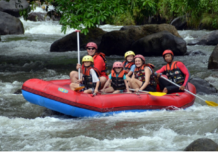 Ayung White Water Rafting with Lunch and Ubud Monkey Forest