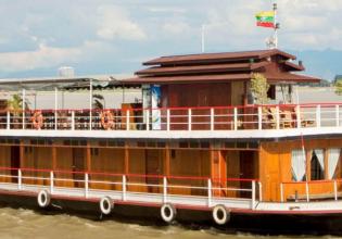 Bagan-Mandalay by Luxury River Cruise