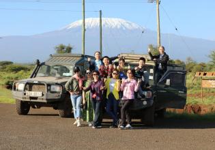 Amboseli national park trip